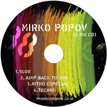 Mirko Popov: 38 [4MIX CD] [pmgrec 050] 2010